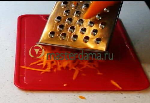 фото морковь на терке