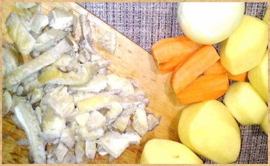 фото для сайта- грибы, картофель, лук