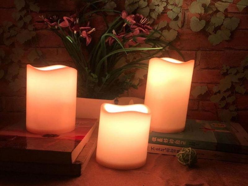 фото для статьи сайта электронные свечи