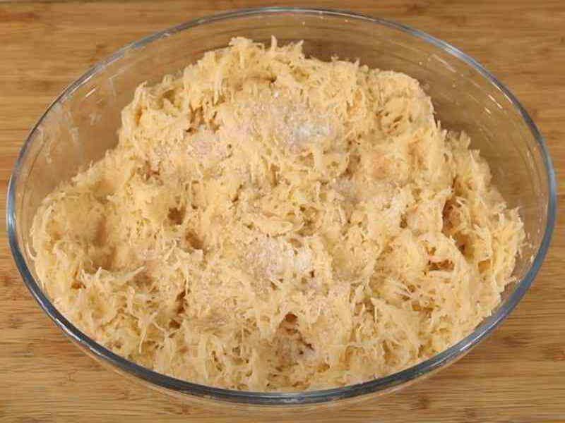 Картофельная основа для драников и оладий