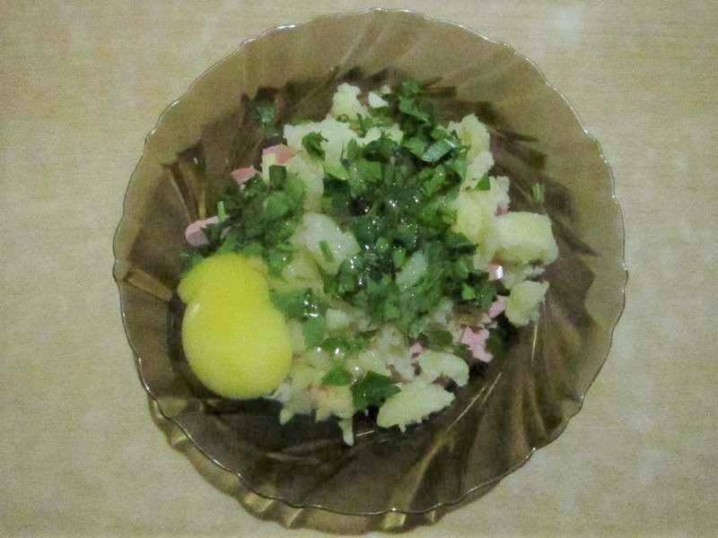 начинка для фаршировки картофеля
