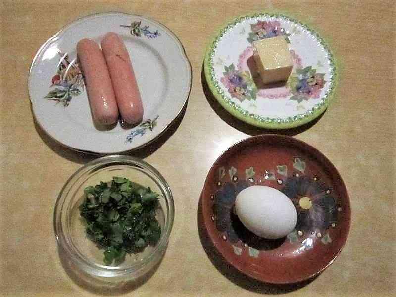 ингредиенты для блюда с картофелем